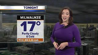 Cold temperatures overnight - Video
