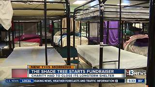 The Shade Tree begins major fundraiser - Video