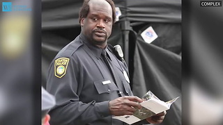 Shaquille O'Neal Wants To Serve As A Sheriff - Video