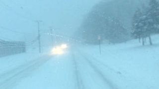 Snow Affects Driving Conditions in Detroit - Video