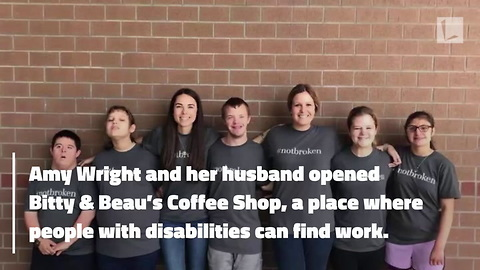 Young Man with Down Syndrome Who Loves To Dance Gets Heartwarming Promotion at Coffee Shop