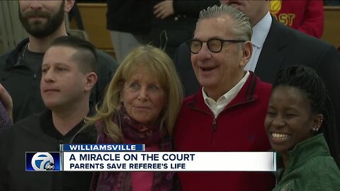 How parents saved a local basketball referee's life