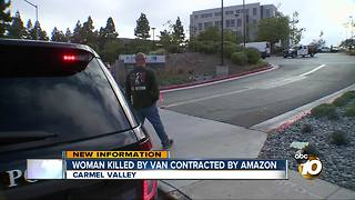 Amazon contractor involved in fatal crash, police say - Video
