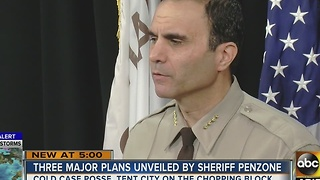 Sheriff Penzone unveils 100 day plan and changes he plans to make - Video