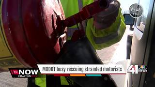 MODOT busy resucing stranded motorists