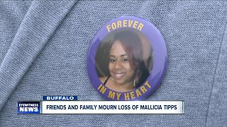 Friends and Family mourn the loss of Mallicia Tipps