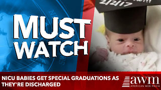 NICU Babies Get Special Graduations as They're Discharged - Video
