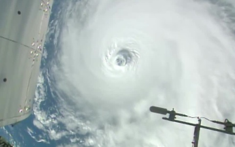 Space Station cameras capture tropical systems in the Pacific and the Atlantic