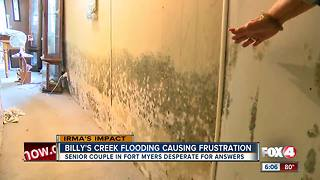 Billy's Creek flooding causing frustration