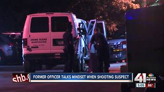Former officer discusses officer-involved shootings - Video