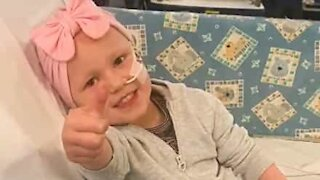 Quarantine: dad can't be with daughter suffering from leukemia