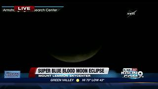 A look at the super blue blood moon eclipse
