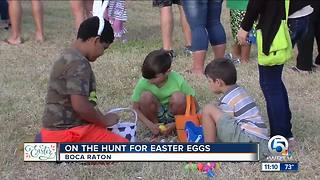 On the hunt for Easter eggs - Video
