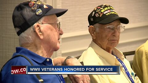 Veterans celebrated and honored