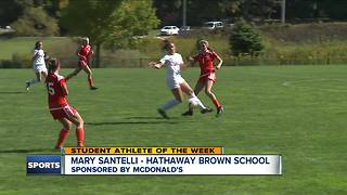 Student Athlete of the Week: Mary Santelli