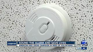 Volunteers needed for Sound the Alarm smoke detector campaign - Video