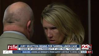 Jury selection begins in Sabrina Limon trial