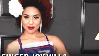 "Singer Joy Villa Showed Up to Grammy's in a ""Make America Great Again"" Dress - Video"