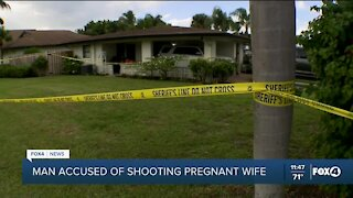 Man accused of shooting pregnant wife
