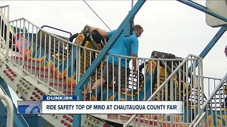 Fair ride inspection 6P - Video