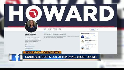 Florida GOP candidate apologizes for fake diploma, drops out of race