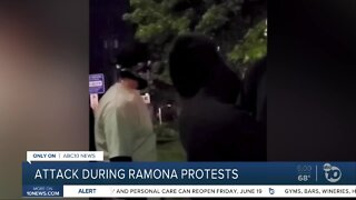 Attack during Black Lives Matter protest in Ramona