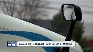 Schumer calls for higher truck safety standards following fatal Thruway crash - Video