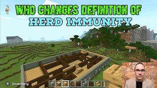 WHO Changes Definition of Herd Immunity