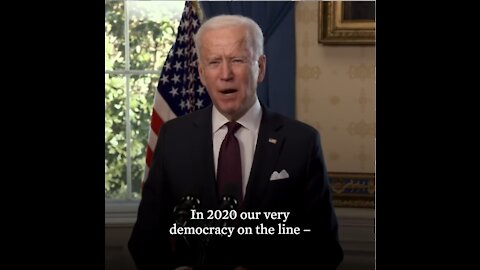 Biden Announces Election Fraud Executive Order By Using The Race Card