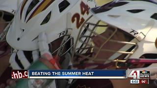 KC metro coping with another blistering hot day - Video