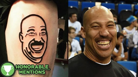 Fantasy Football Loser Gets a LaVar Ball TATTOO as Punishment -HM