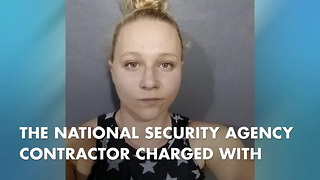 NSA Contractor Accused Of Leaking Information Is A Trump Critic - Video