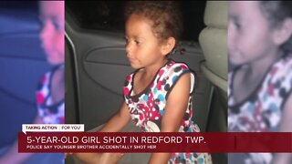 5-year-old girl shot in Redford Twp.