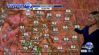 Hot and dry in Denver with upper 90s Saturday and Sunday - Video