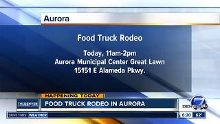 Aurora hosts food truck rodeo on Friday - Video