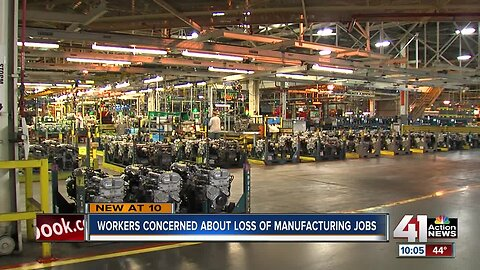 Report: 1,900 manufacturing jobs lost in KC metro this year