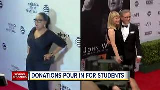 Donations pouring in to Parkland students' 'March for Our Lives' - Video