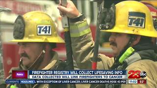 New federal registry will track cancer in firefighters - Video