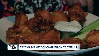 O'Neill's offers a spicy chicken wing challenge - Video