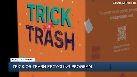 'Trick-or-trash' recycling effort led by Princeton students this Halloween