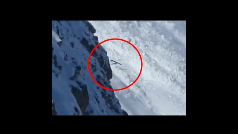 Avalanche Sends Skier Tumbling Down Mountain in Pyrenees