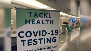 COVID-19 testing available for travelers flying from Cleveland Hopkins International Airport