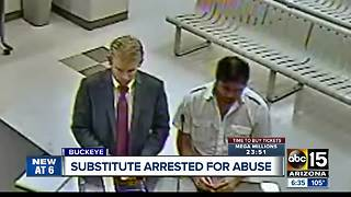 Substitute teacher accused of inappropriately touching girls - Video