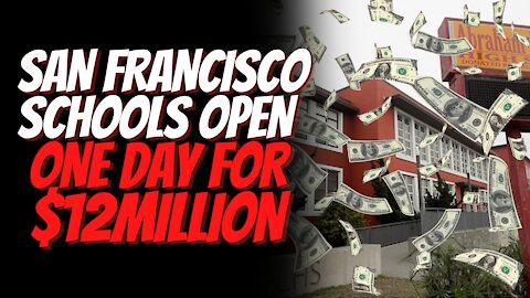 San Francisco Schools Reopen For One Day For 12million Dollars In Funding Deal District & Teachers!