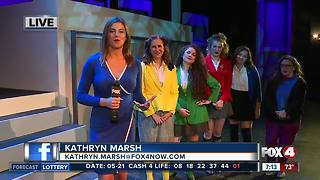 Young artists rehearse for Heathers the Musical - 7am live report - Video