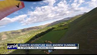 Outdoorsman Dunning is flying above the rest - Video