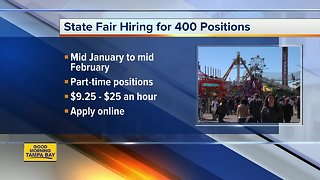 Florida State Fair looking to hire more than 400 seasonal and part-time employees