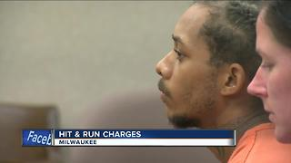 Suspect in hit-and-run crash that injured two officers appears in court - Video