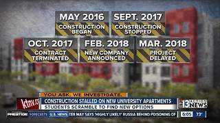 Timeline for troubled UNLV housing project - Video