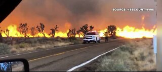 Wildfire Watch: Crews battle multiple fires Monday